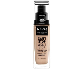 NYX Can't Stop Won't Stop Foundation - Light Ivory