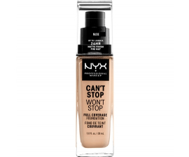 NYX Can't Stop Won't Stop Foundation - Nude