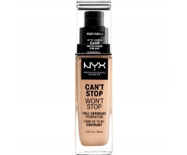 NYX Can't Stop Won't Stop Foundation - Warm Vanilla