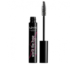 NYX Worth The Hype Vandfast Mascara - Sort