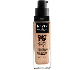 NYX Can't Stop Won't Stop Foundation - Natural