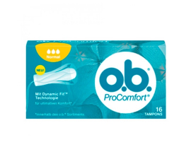 O.B. Tampons Normal 16 stk