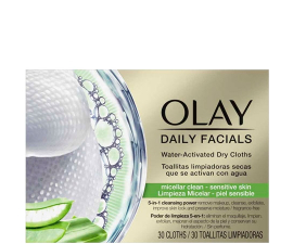 Olay Daily Facials Makeup Renseservietter Sensitive Skin