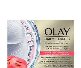 Olay Daily Facials Makeup Renseservietter Normal Skin