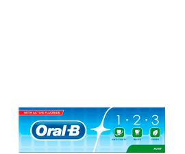 Oral-B 1-2-3- Tandpasta - 100ML
