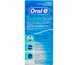 Oral-B Superfloss Tandtråd - 50 stk