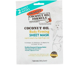 Palmer's Coconut Oil Body Firming Sheet Mask - 2 stk
