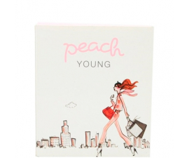 Peach Young Bind - 2 stk