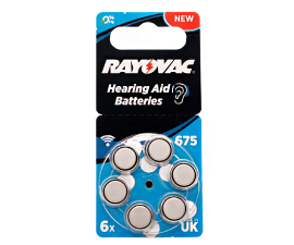 Rayovac Acoustic Special 675 - 6 stk