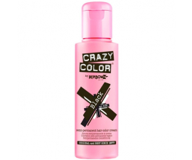 Renbow Crazy Color Semi-Permanent Hårfarve - 030 Black