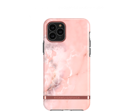 Richmond & Finch Pink Marble Mobil Cover - iPhone 12 Mini