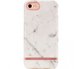 Richmond & Finch White Marble Mobil Cover - iPhone 6/7/8