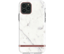 Richmond & Finch White Marble Mobil Cover - iPhone 11 Pro Max