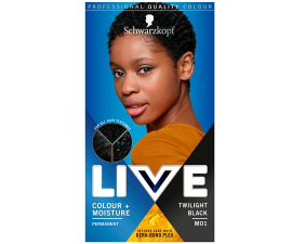 Schwarzkopf Live Permanent Hårfarve - M01 Twilight Black