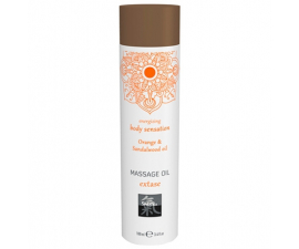 Shiatsu Orange & Sandalwood Massageolie - 100ml