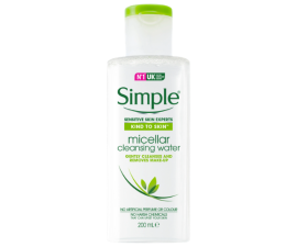 Simple Kind To Skin Micellar Cleansing Water - 200ML