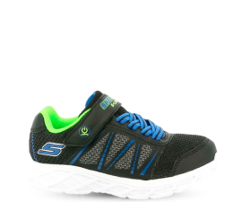 Skechers S-Lights Dynamic Flash Sko - Sort