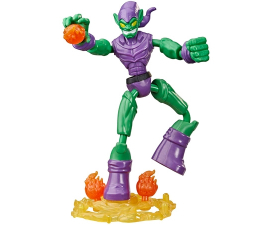 Spiderman Bend & Flex Green Goblin Figur - 15 cm