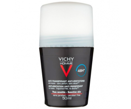 Vichy Homme Anti-Transparant 48H Deodorant - 50ML