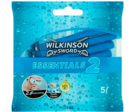 Wilkinson Sword Essentials 2 Engangsskrabere - 5 stk
