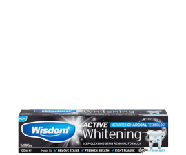 Wisdom Active Whitening Charcoal Tandpasta - 100 ml
