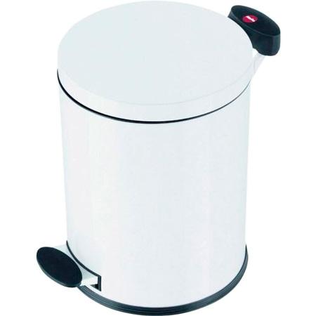 Billede af Hailo Pedalspand 4 Liter - Hvid