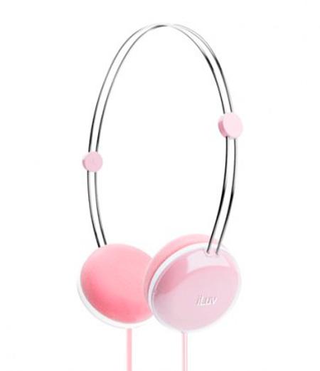 Billede af iLuv Sweet Cotton Høretelefoner - Pink