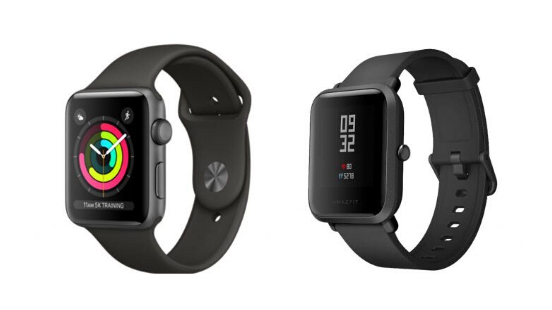Apple Watch vs. Amazfit Bip: Bedste smartwatch til prisen